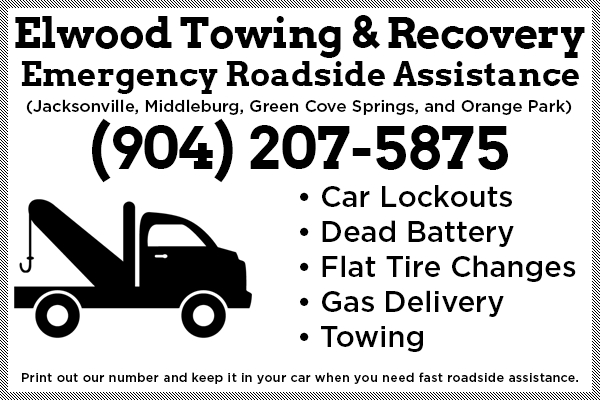 Roadside Assistance Jacksonville, Fl & Green Cove Springs